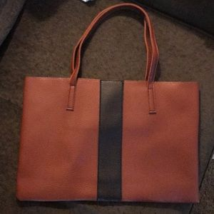Vince Camuto Leather Tote Bag